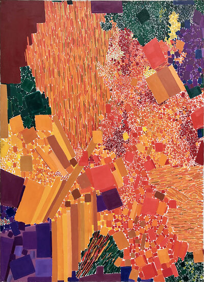 Lynne Drexler, 'Fire Bush', 1963