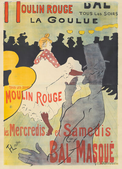Henri de Toulouse-Lautrec, 'Moulin Rouge / La Goulue', 1891
