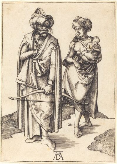 Albrecht Dürer, 'The Turkish Family', ca. 1495/1496