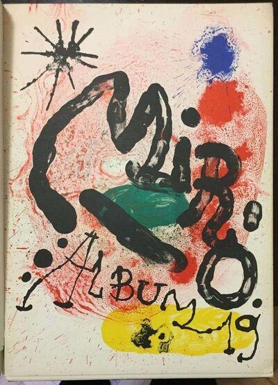 Joan Miró, 'Mirò Album 19', 1963