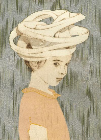 Ellen Heck, 'Sasha Wearing a Toroidal Scherk Surface as a Hat', 2016