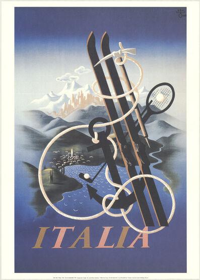 A.M. Cassandre, 'Italia', 1998