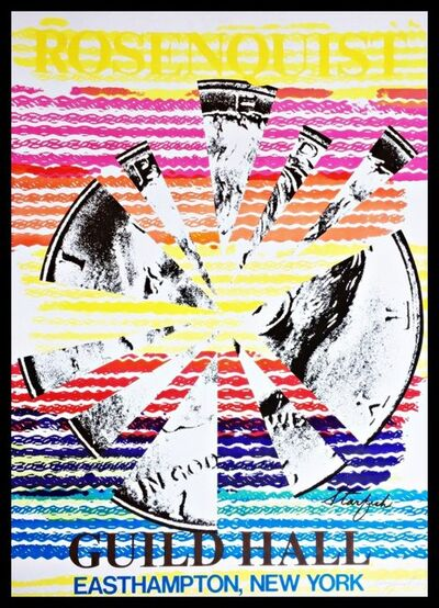 James Rosenquist, 'Rosenquist, Starfish for Guild Hall, Easthampton, NY (Hand Signed)', 1974