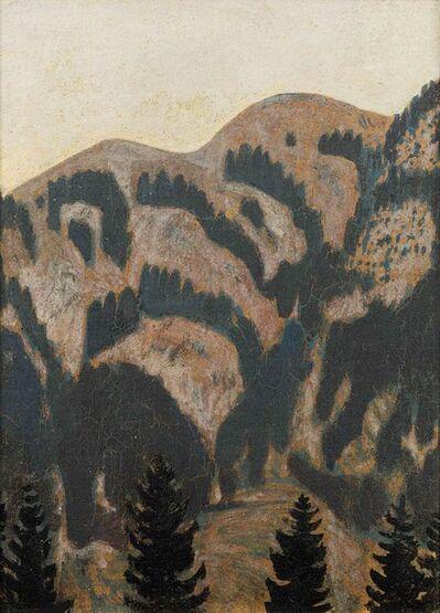 Alfons Walde, 'Alpine Landscape', 1910-1915