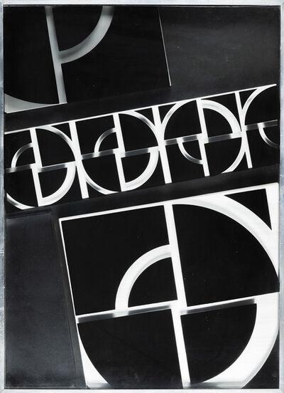 Giovanni Campus, 'Struttura modulare multipla continua', 1972