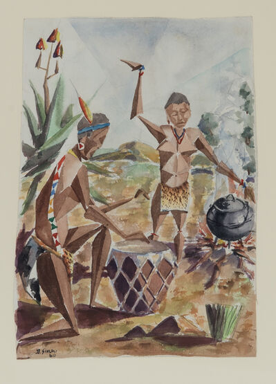 Durant Sihlali, 'Traditional Dance', 1960