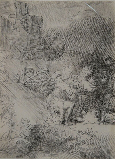 Rembrandt van Rijn, 'The Agony in the Garden', 1663