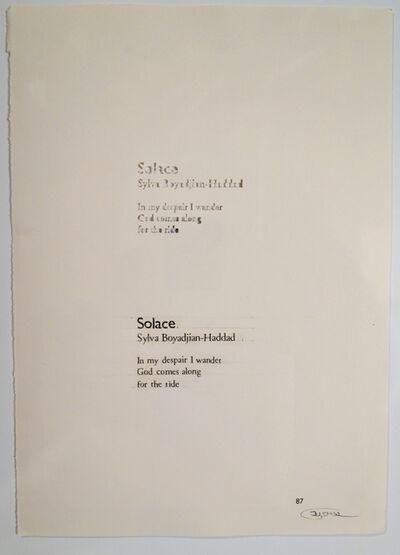Youdhishtir Maharjan, 'Displaced Solace', N/d