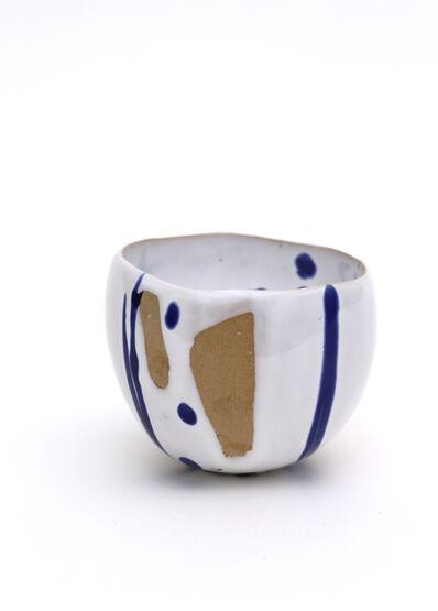 AKIO NIISATO, 'Lapis and white tea bowl', 2018