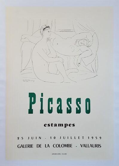 Pablo Picasso, 'Expo 59 - Galerie de la Colombe Vallauris', 1959