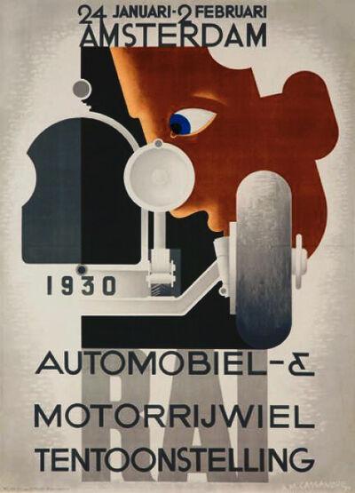 A.M. Cassandre, 'RAI - AMSTERDAM - AMSTERDAM ANNUAL AUTOMOBILE SHOW', 1929