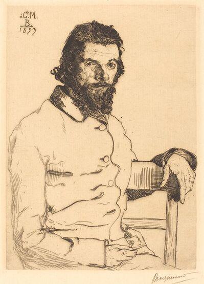 Félix Bracquemond, 'Charles Meryon', 1853