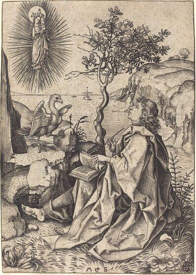 Martin Schongauer, 'Saint John on Patmos', ca. 1475/1480