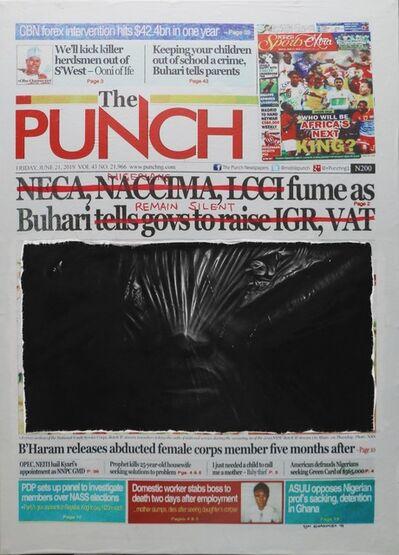 Ken Nwadiogbu, 'Buhari Remain Silent', 2019