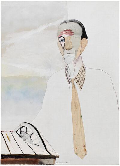 Benny Andrews, 'Duchamp ', 1985