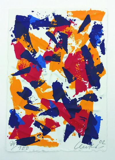 Günther Uecker, 'Splitter 3', 2002