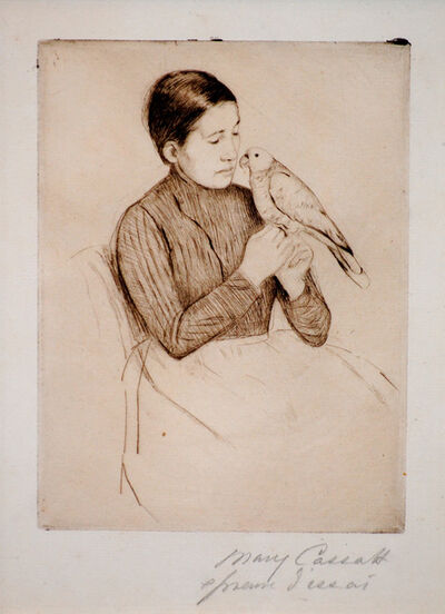 Mary Cassatt, 'The Parrot', ca. 1891