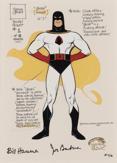 Hanna-Barbera, 'Space Ghost Model Sheet', 2021