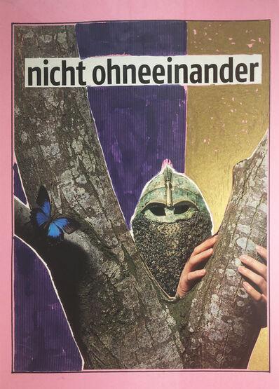 Werner Büttner, 'nicht ohneeinander', 2000