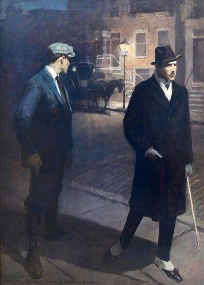 Gale Porter Hoskins, 'Two Men on the Street'