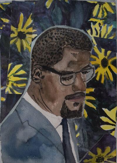 Kathy Pieper, 'Malcolm X', 2018