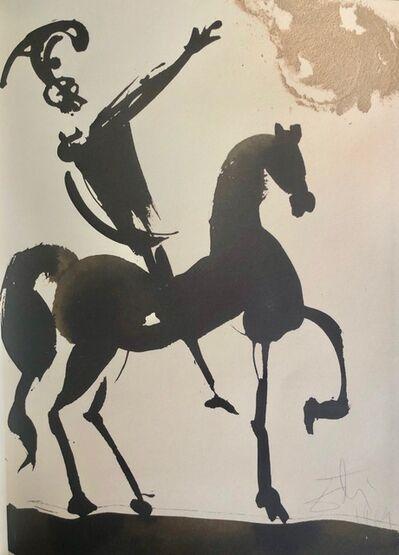 Salvador Dalí, 'Joshua Brave In War, 'Iosue Fortis In Bello', Biblia Sacra', 1967