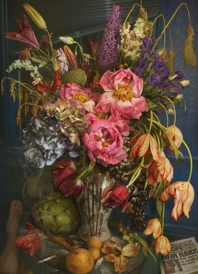 David LaChapelle, 'Wilting Gossip Flower', 2011