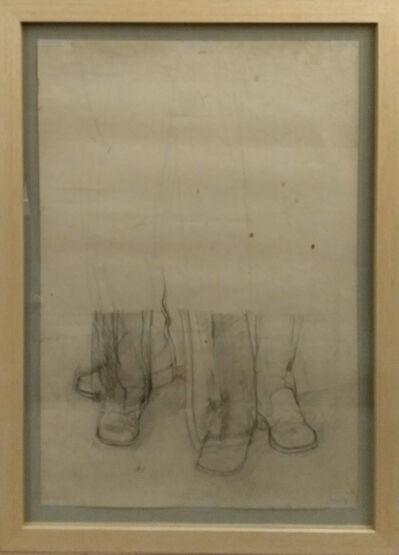 Miguel Angel Rojas, 'Me llaman Trinity y Nevada Smith - 1 (Boceto)', 1972