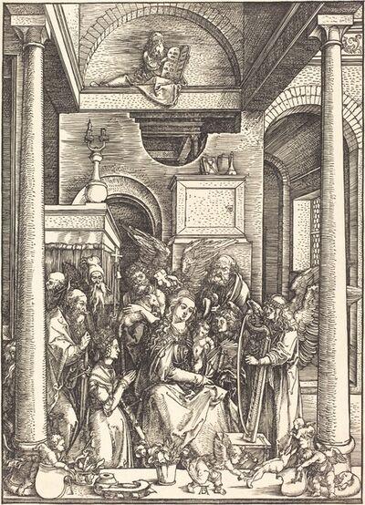 Albrecht Dürer, 'The Glorification of the Virgin', ca. 1504