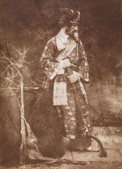 Hill & Adamson, 'Dr John Lane in Afghan Costume', 1843