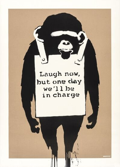Banksy, 'Laugh Now (DN)', 2003