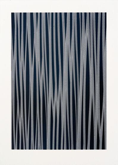 Roland Fischer, 'Façades on Paper IV - Wukesong, Beijing', 2012