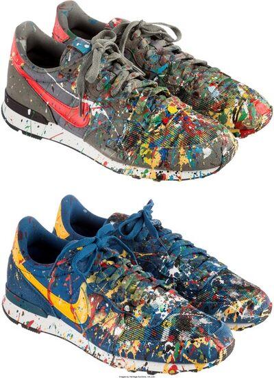 Mr. Brainwash, 'MBW Shoe (Internationalist); 2 pairs', 2014