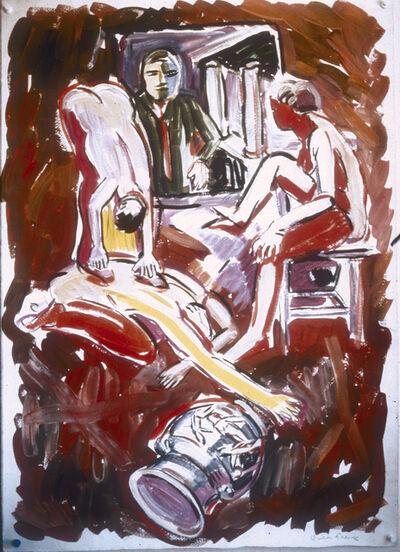 Viola Frey, 'Untitled (Birthday Drawing)', 1989