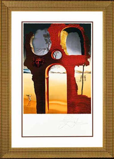 "Salvador Dalí, '""Invisible Face"" Hand Signed Salvador Dali Lithograph ', 1941-1957"