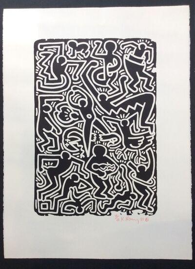 Keith Haring, 'Stones No. 5', 1989