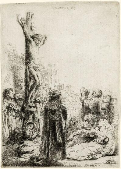Rembrandt van Rijn, 'The Crucifixion:  Small Plate', ca. 1635