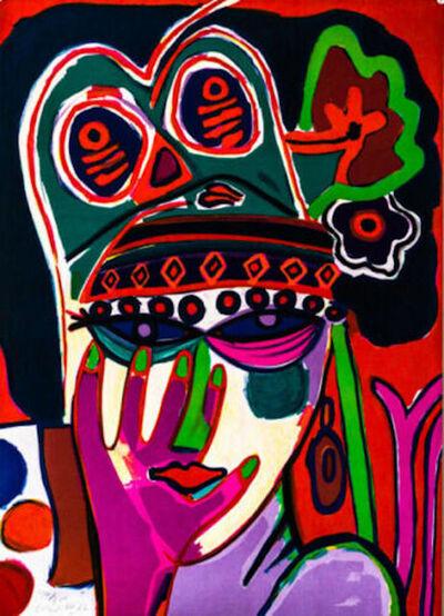 Corneille (Cornelius Guillaume Beverloo), 'Portrait', 1982