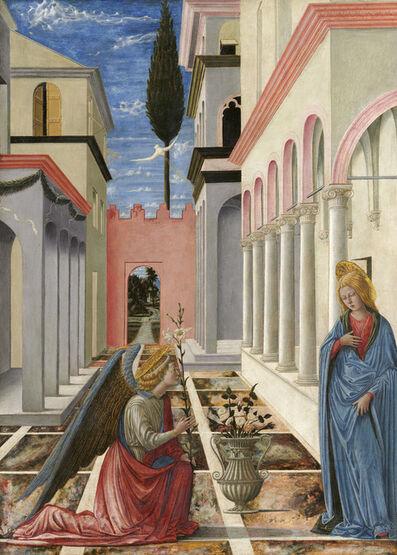 Fra Carnevale, 'The Annunciation', ca. 1445/1450