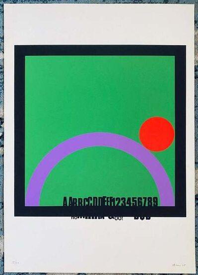 Eugenio Carmi, 'Untitled', 1968