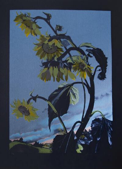 Sondra Freckelton, 'Sunflowers, State II', 1990