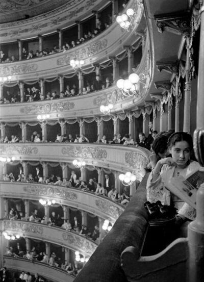 Alfred Eisenstaedt, 'Premiere at La Scala, Milan', 1934