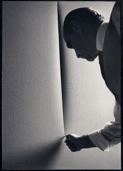 Ugo Mulas, 'Lucio Fontana - L'Attesa', 1965