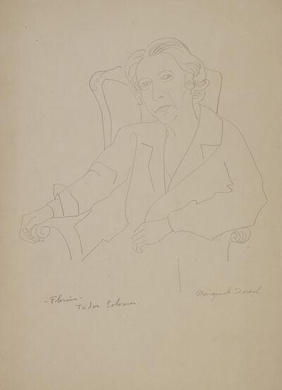 Marguerite Zorach, 'Florine Stettheimer Seated in an Armchair', 20th century