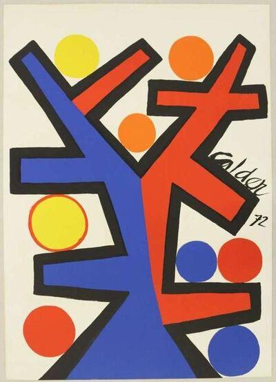 Alexander Calder, 'Asymétrie', 1972