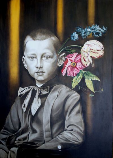 Marianna Gartner, 'Boy with Flowers for Brains #1', 2016