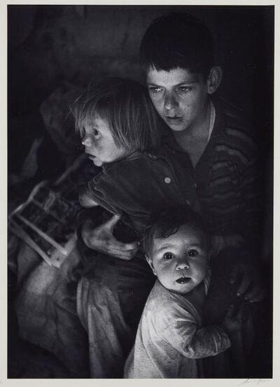Ansel Adams, 'Trailer Camp Children, Richmond, California'