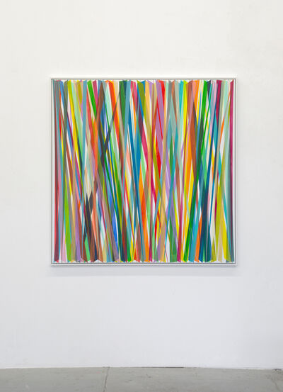 Beat Zoderer, 'Verticales Zig-Zag No. 10', 2019