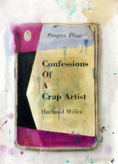 Harland Miller, 'Confessions of a Crap Artist', 2013
