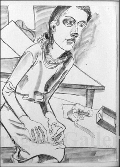 Alice Neel, 'Nancy', 1977